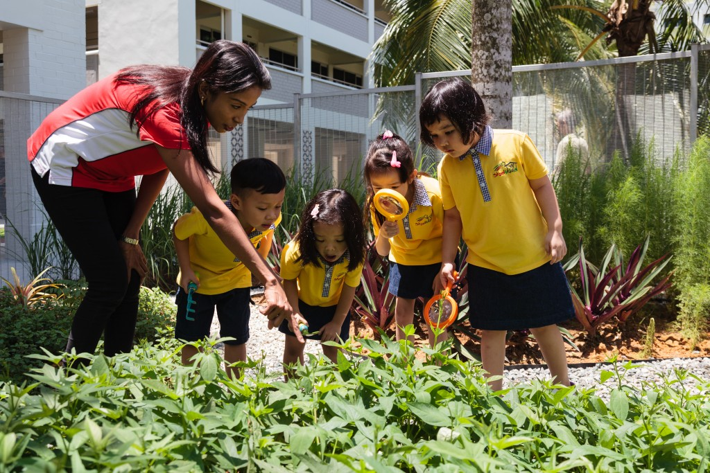 "The new campus is designed to provide children with a ""park within a park"" learning experience, where the natural environment is used as part of their educational and developmental journey."